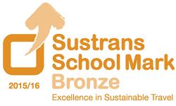 Sustrans School Mark - Bronze